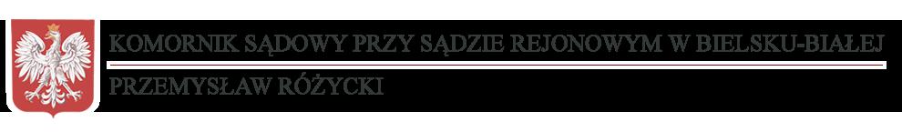 Komornik Sądowy Przemysław Różycki Logo